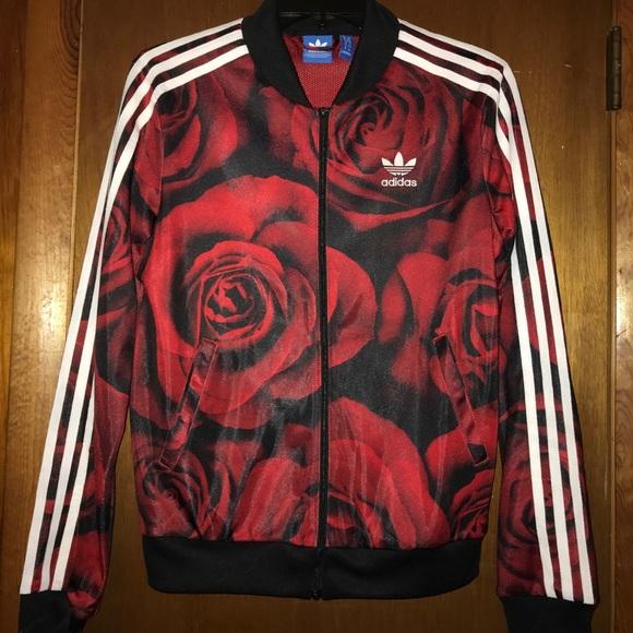 91f0dde90272 adidas Jackets   Blazers - Adidas Rose Jacket
